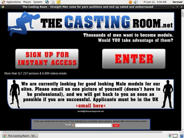Account On Thecastingroom.net