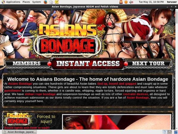 Asiansbondage Join Anonymously