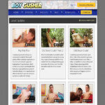 Boy Gusher Membership Account