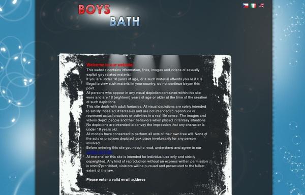 Boysbath.com Mail Order