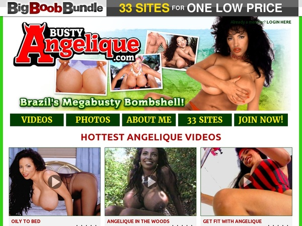Busty Angelique Payment Options