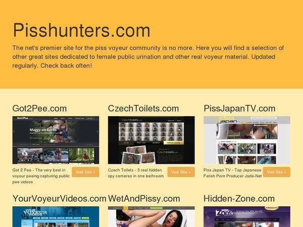 CTK Piss Hunters Gallery