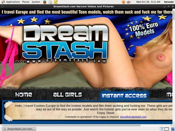 Dreamstash.com Account Information