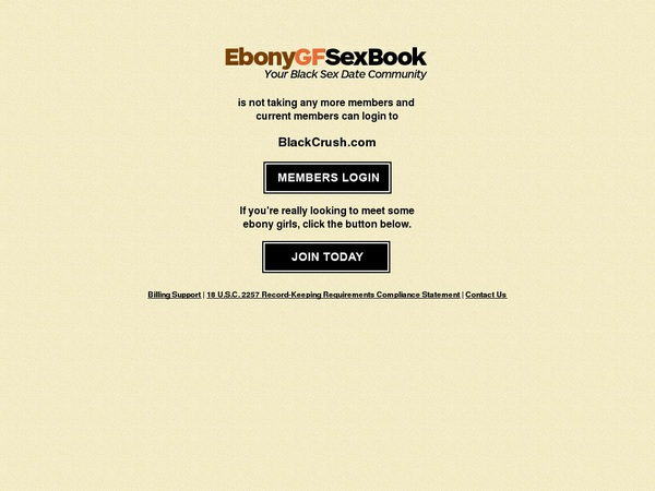 Ebony GF Sex Book Discount Offer