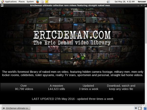 Eric Deman Join Page