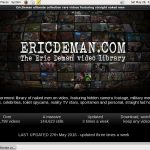 Eric Deman Website Password