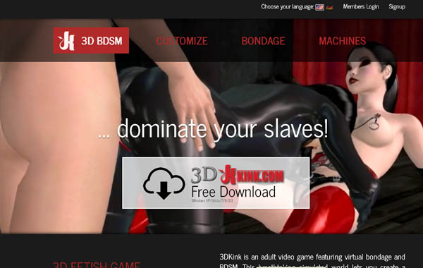 Free 3D Kink Porn