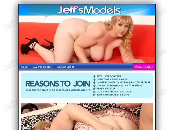 Free Jeff's Models Account