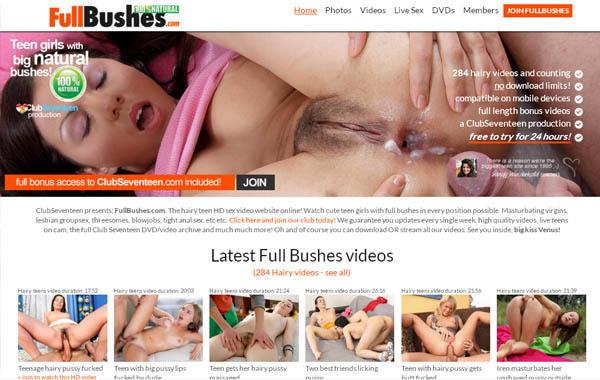 Full Bushes Full Free
