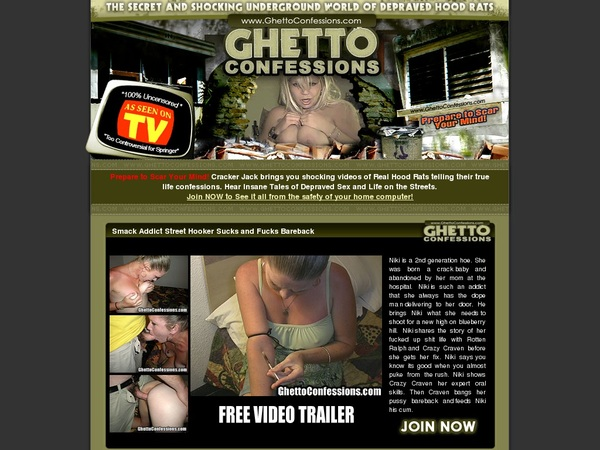 Ghettoconfessions Sale