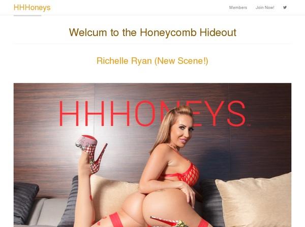 HHHoneys Sign Up Form