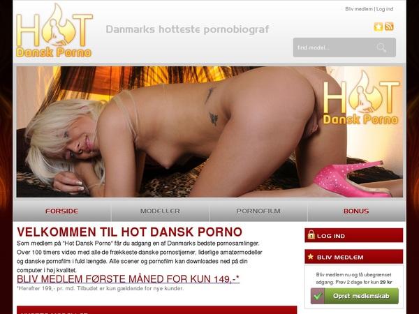 Hot Dansk Porno Accounts And Password