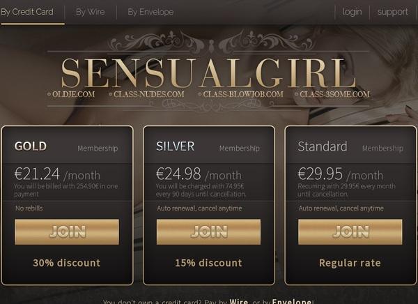 How To Get Sensualgirl.com For Free