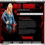 Juliesimone.com Upcoming