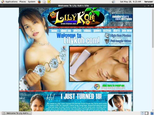 Lilykoh.com Full Com