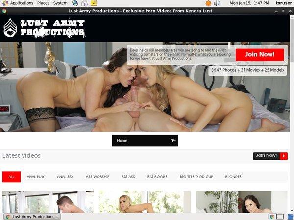 Lust Army Get Membership