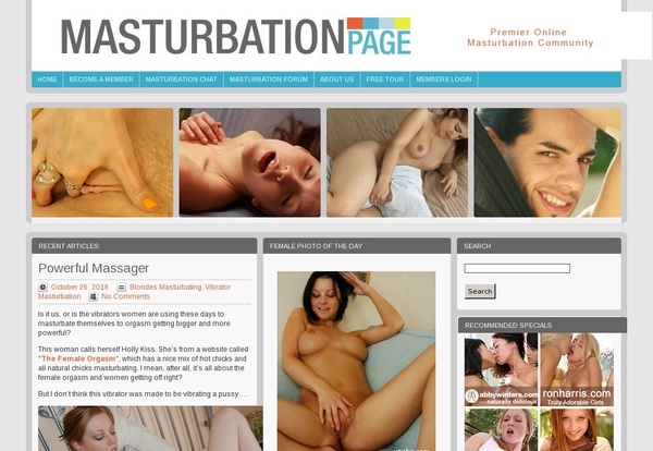 Masturbation Page Passwords For Free