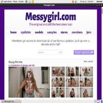 Messygirl Account