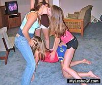 My Lesbo GF lesbians