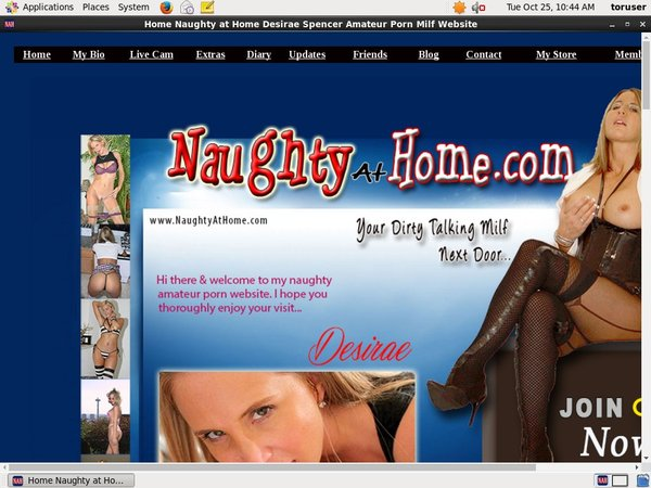 Naughty At Home With AOL Account
