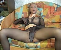 Pantyhose Castings girls in pantyhose