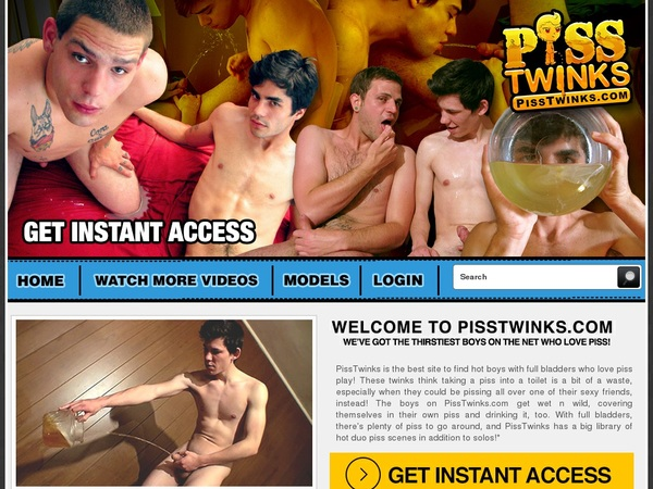 Pisstwinks Password Login
