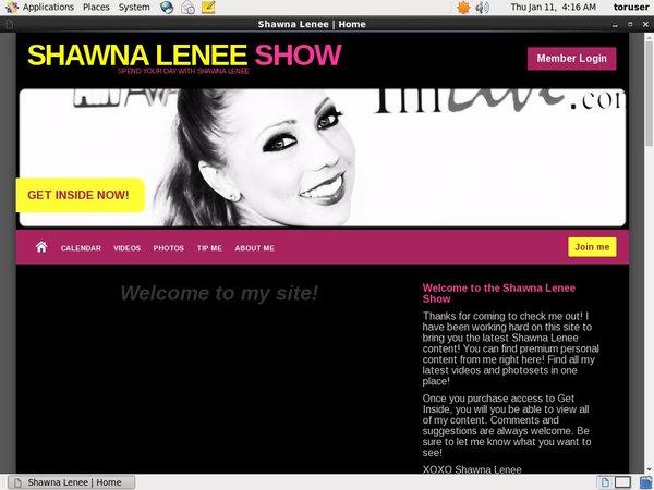 Shawnaleneeshow.modelcentro.com Vids