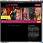 Signup For Starr Noir With Paypal