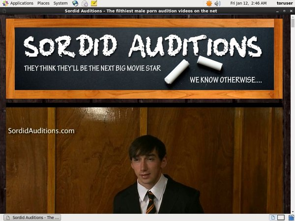 Sordid Auditions V2 Passwords Free
