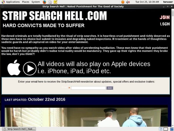 Stripsearchhell Gallaries