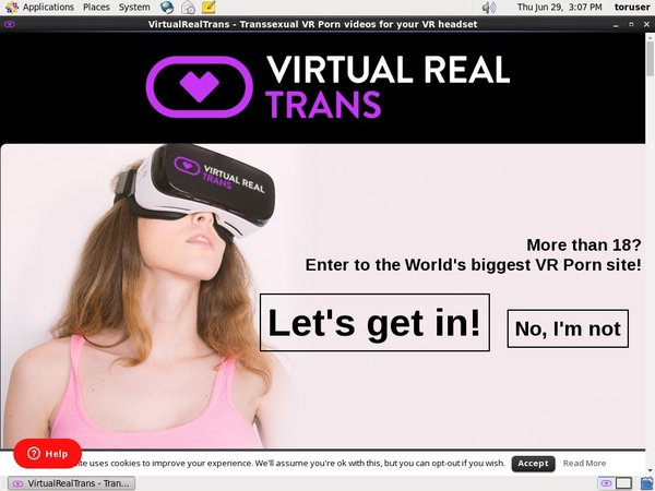 Virtualrealtrans With AOL Account
