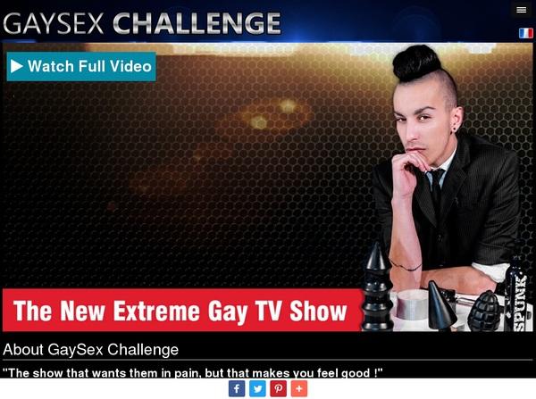 Gaysexchallenge Register