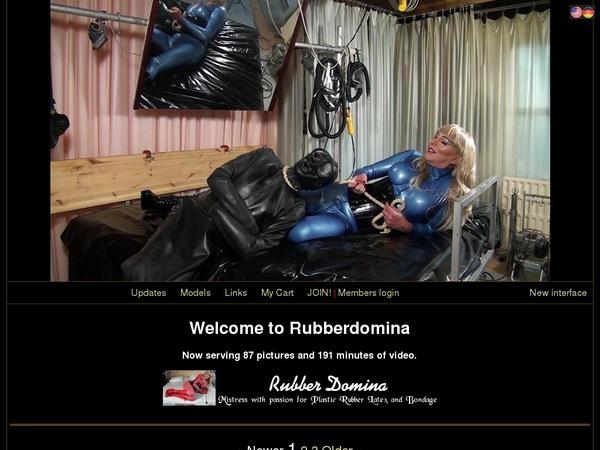 Rubber Domina Password Info