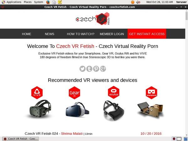 Czechvrfetish.com Upcoming