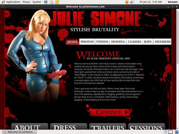Juliesimone.com Hd Videos