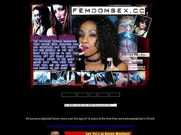 Free Femdomsex Password Account