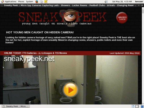 Sneaky Peek Downloads