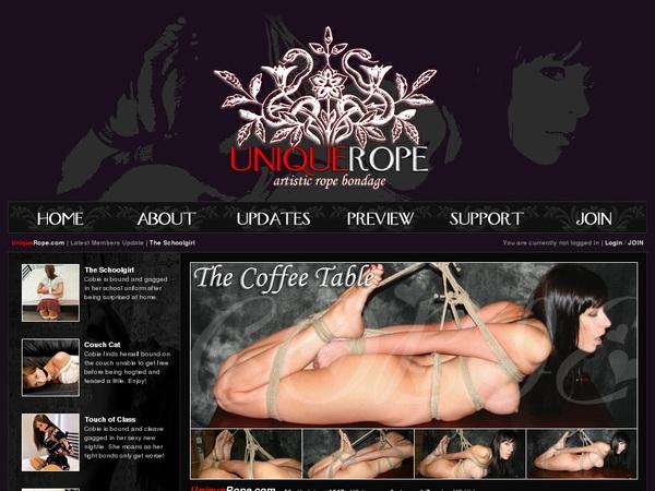 Uniquerope.com Account 2014