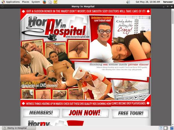 Hornyinhospital.com Pay