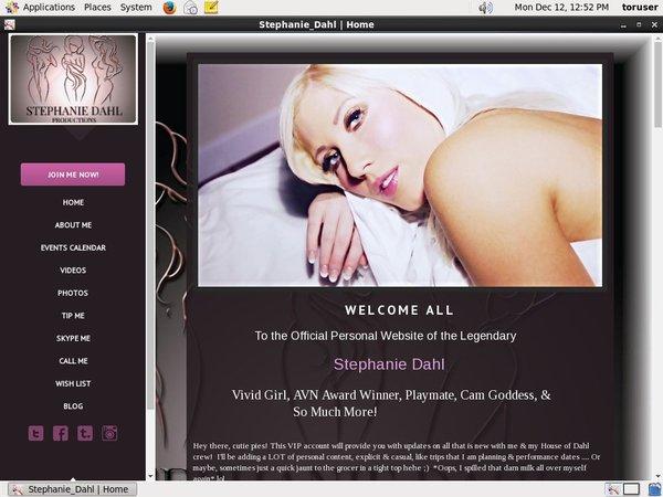 Stephanie Dahl Discount Url