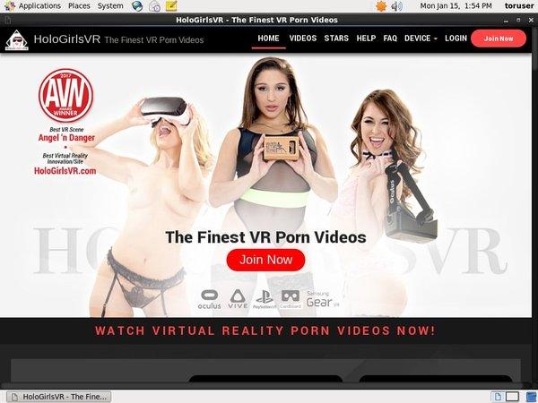 Holo Girls VR Account Password