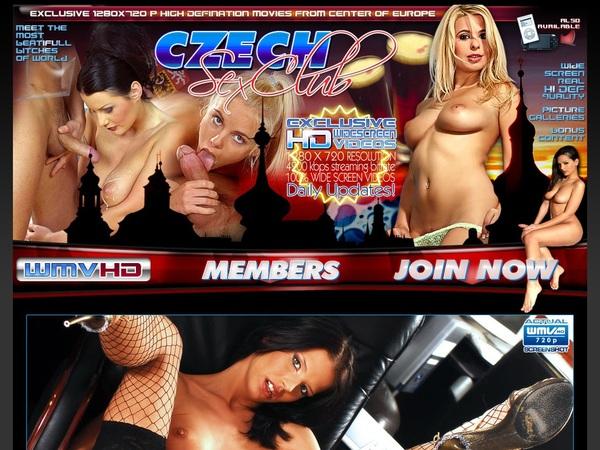 Czech Sex Club Get Password