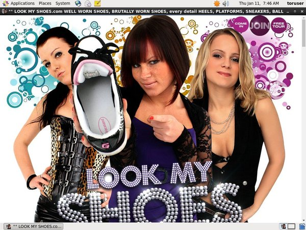 Lookmyshoes Porn Site