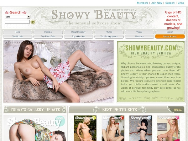 Free Working Showy Beauty Accounts
