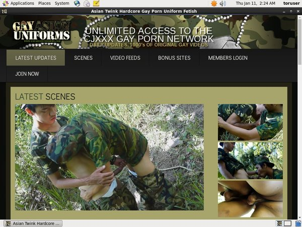 Account For Gayasianuniforms.com Free