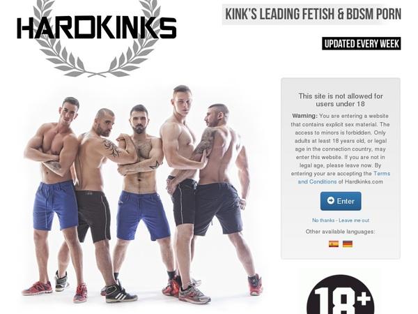 Become Hardkinks.com Member