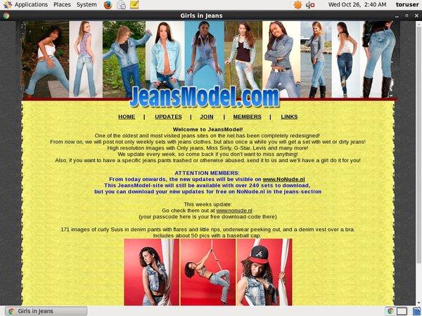 Jeansmodel Free Hd