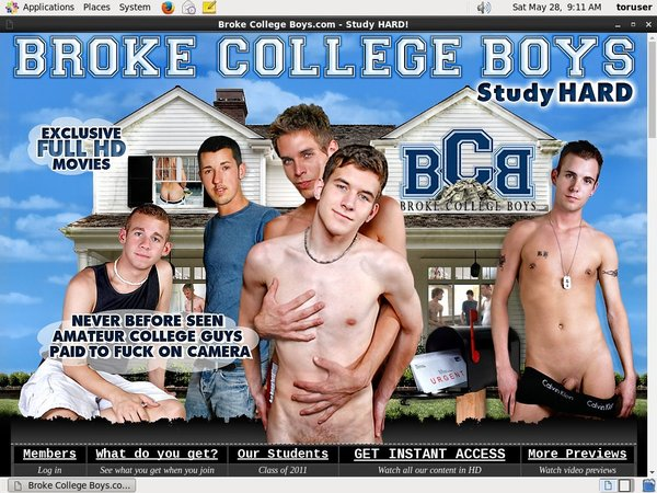 Broke College Boys Log In