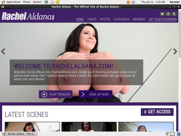 Rachelaldana.com Join By EU Debit