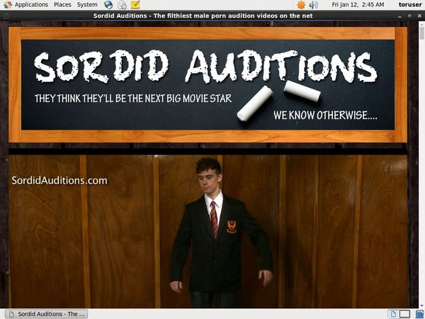 Sordidauditions.com Free Full